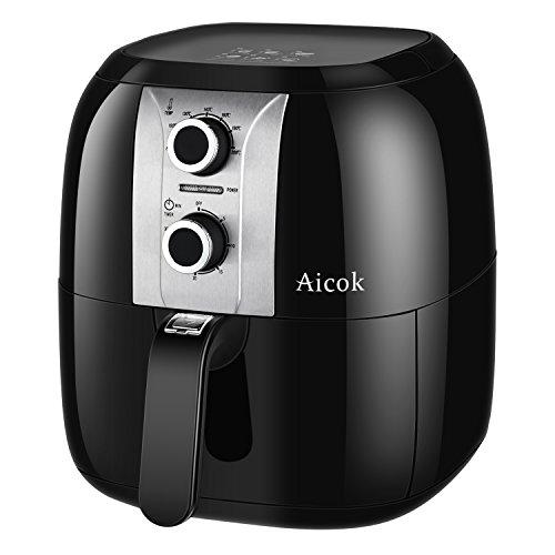 Aicok Freidora sin Aceite – Alimentos crujientes sin necesidad de aceite